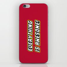 Everything is Awesome! iPhone & iPod Skin