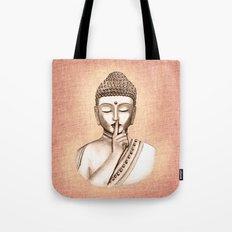 Buddha Shh.. Do not disturb - Colored version Tote Bag