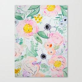 PEONY Canvas Print