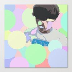 Light Surfing Canvas Print