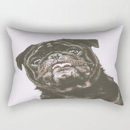 Curious Inky Rectangular Pillow
