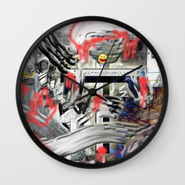 CrashED Wall Clock