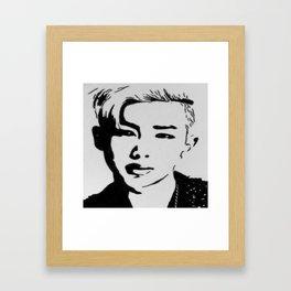 Rap Monster- BTS Framed Art Print