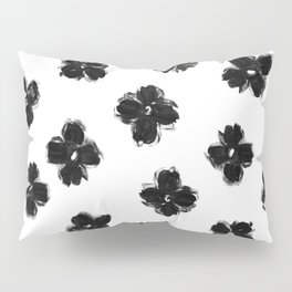 ink flowers Pillow Sham