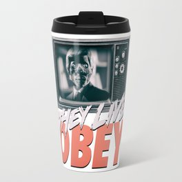 They Live Obey Travel Mug