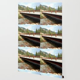 Bridge Over Mineral Creek Wallpaper