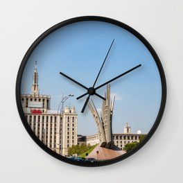 Rouamnia, House Free Press, Bucarest Wall Clock