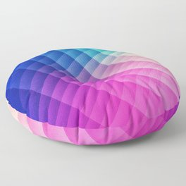 Abstract Colorful Art Pattern (LTBG - Low poly) - Texture aka. Spectrum Bomb! (Photoshop Colorpicker Floor Pillow
