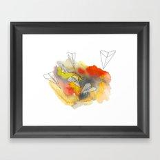 Sunplanes Framed Art Print