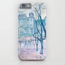 Stanislaw Wyspianski - Planty at dawn - Digital Remastered Edition iPhone Case