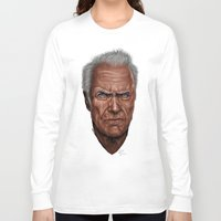 clint barton Long Sleeve T-shirts featuring Clint by Palm