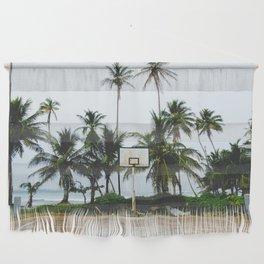 Basketball on Isla Bastimento, Bocas del Toro, Panama Wall Hanging