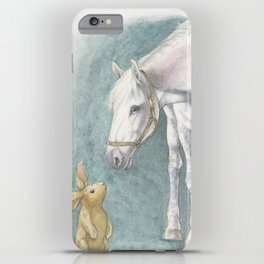 Velveteen Rabbit iPhone Case