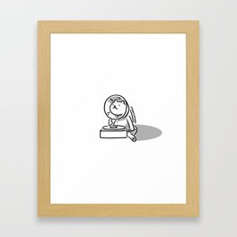 Gramocat Framed Art Print