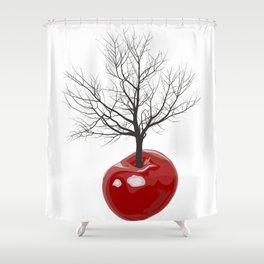 Cherry tree of cherries Shower Curtain