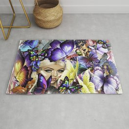 The Royal Butterfly Grounds Rug