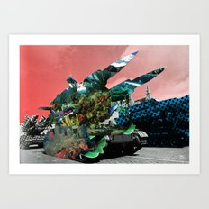 The truth is dead 6 Art Print