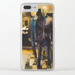 hugo boss Clear iPhone Case