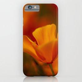 California Golden Poppy iPhone Case