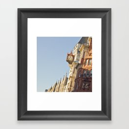 The time will arrive Framed Art Print