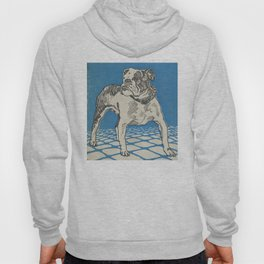 Vintage American Bulldog Illustration (1912) Hoody