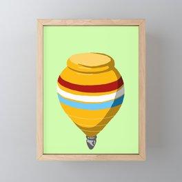 Yellow Top Framed Mini Art Print