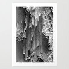 AGATE DRIFT Art Print