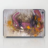 playstation iPad Cases featuring Pinkpurple Playstation Catrabbit - Gamepad Series by Kid Doom