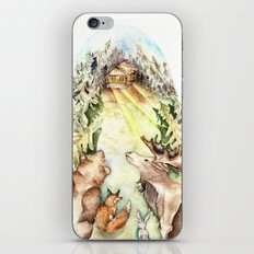 Woodland Creatures iPhone & iPod Skin
