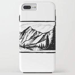 Rectangle Mountain iPhone Case