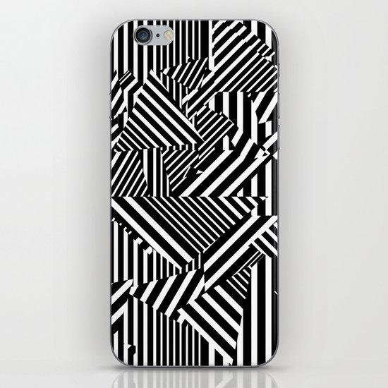 Dazzle Camo #01 - Black & White iPhone & iPod Skin