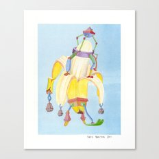 Banana Peeler Canvas Print