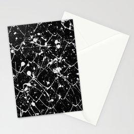 Nikita - black Stationery Cards