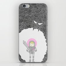 Strong Warrior (Breast Cancer Version) iPhone & iPod Skin