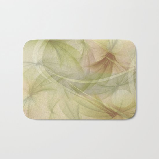 Soft Colors of Nature  Bath Mat