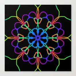 Personal Electromagnetic Field Canvas Print