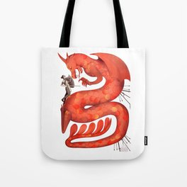 The Warrior and the Worm Tote Bag