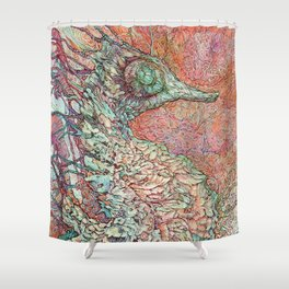 Siren's Ride Shower Curtain