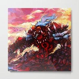 giant orc Metal Print