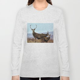 The three Stags Long Sleeve T-shirt