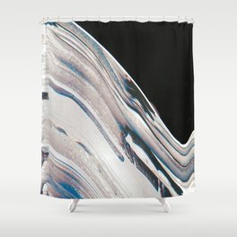 Space Time Blur Shower Curtain