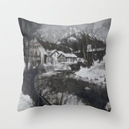 Austrian Winter I Throw Pillow