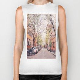 New York City - Springtime in the West Village Biker Tank