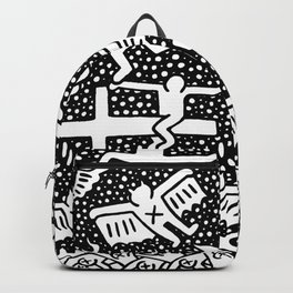 Keith Haring - The marriage of heaven and hell Backpack