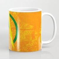 aquaman Mugs featuring Aquaman by Some_Designs
