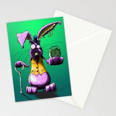 Crazy Rabbit Stationery Cards