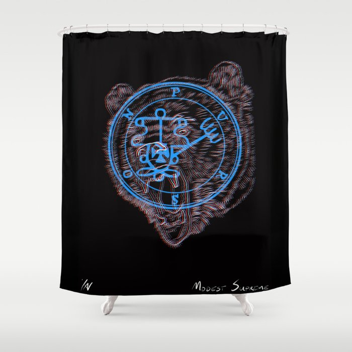 Bearson Shower Curtain