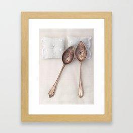 The Art of Spooning Framed Art Print