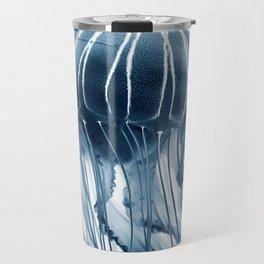 Jellyfish blue Travel Mug