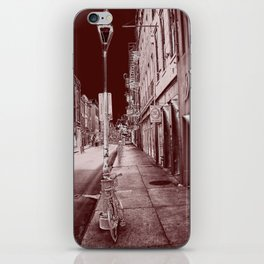 Red and Black New Orleans iPhone Skin